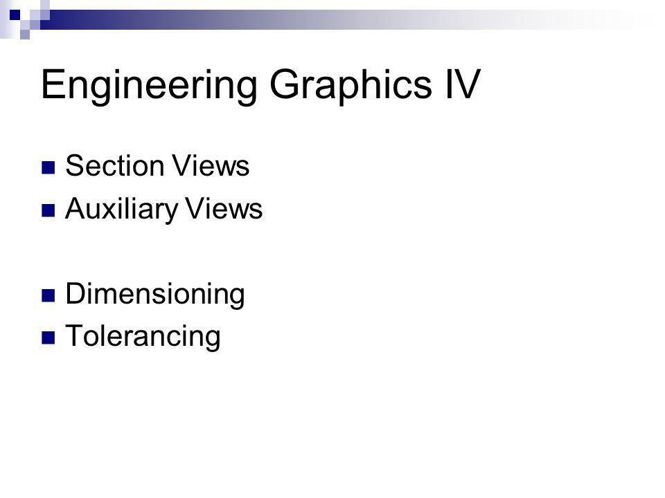Engineering Graphics IV