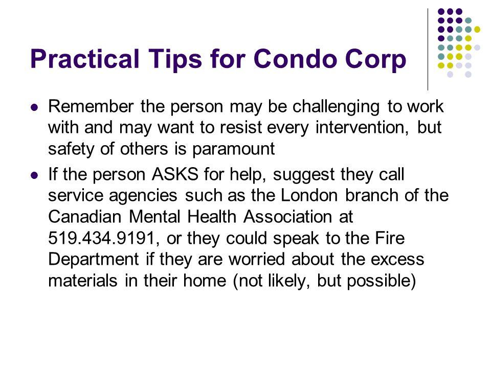 Practical Tips for Condo Corp