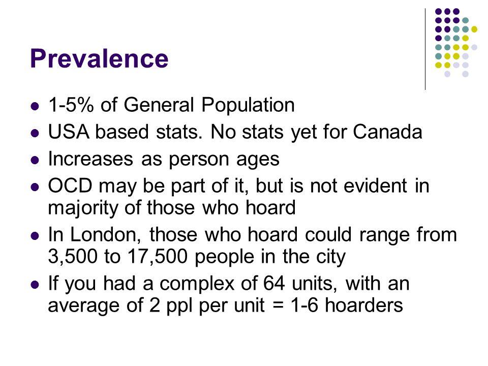Prevalence 1-5% of General Population