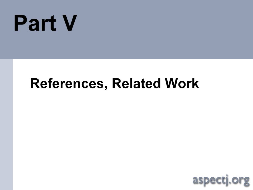 References, Related Work