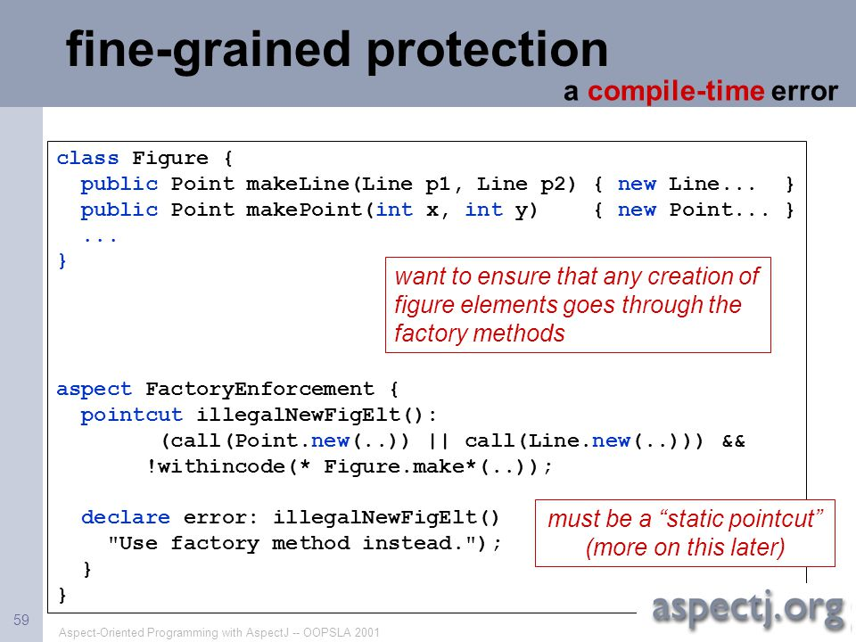 fine-grained protection