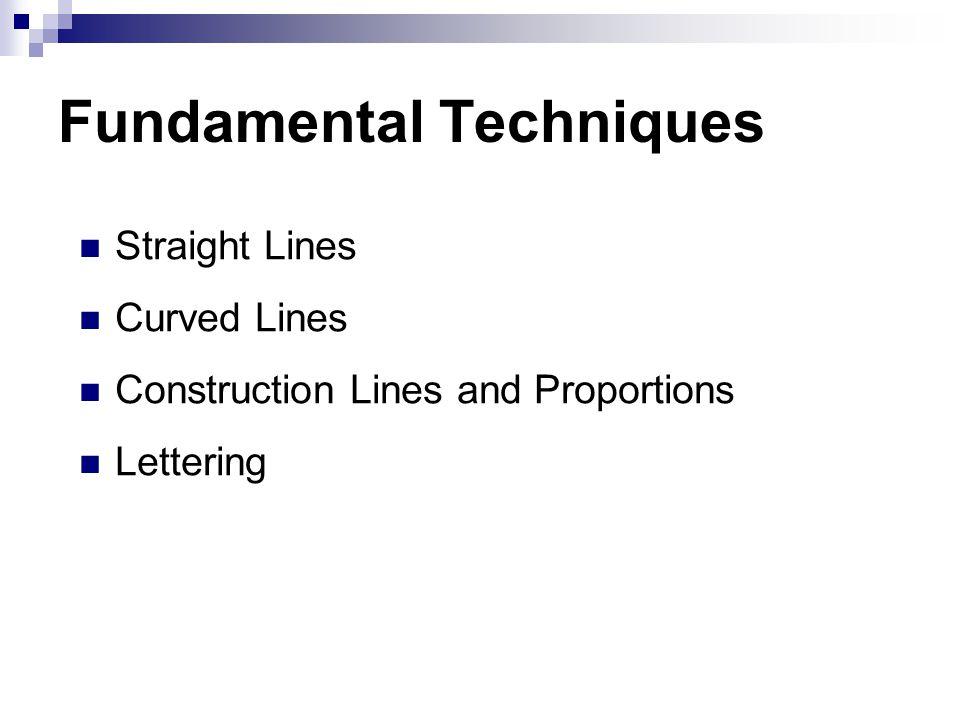 Fundamental Techniques