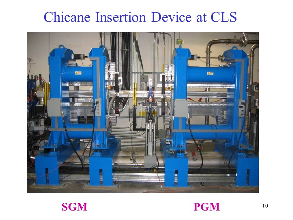 Chicane Insertion Device at CLS