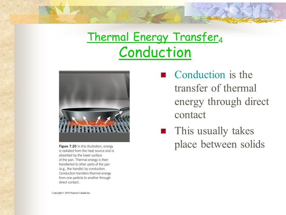 Thermal Energy Transfer4 Conduction