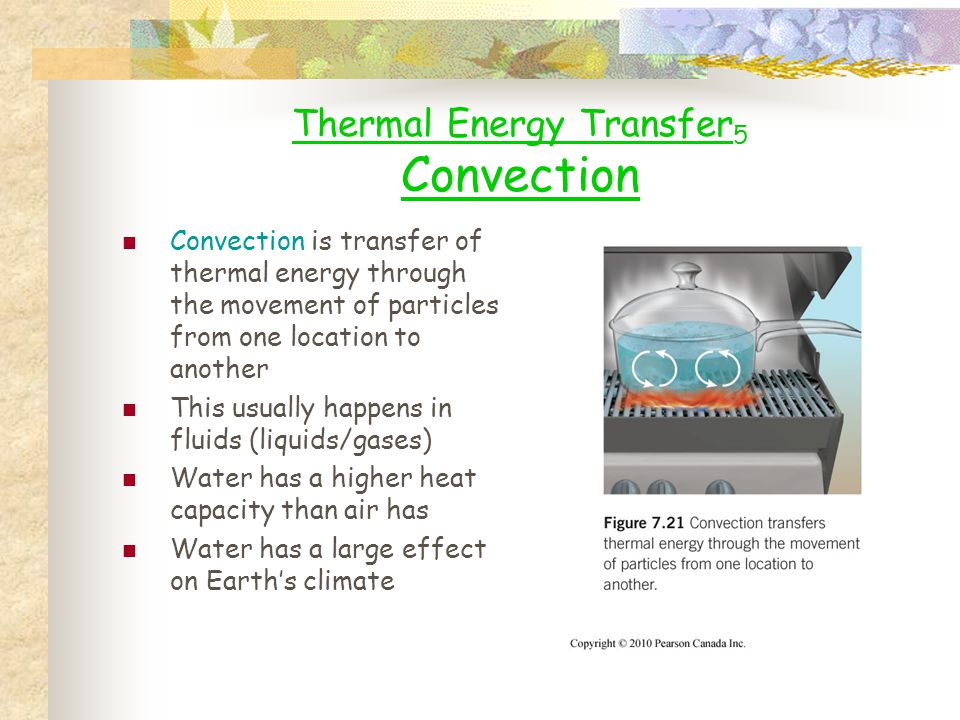 Thermal Energy Transfer5 Convection