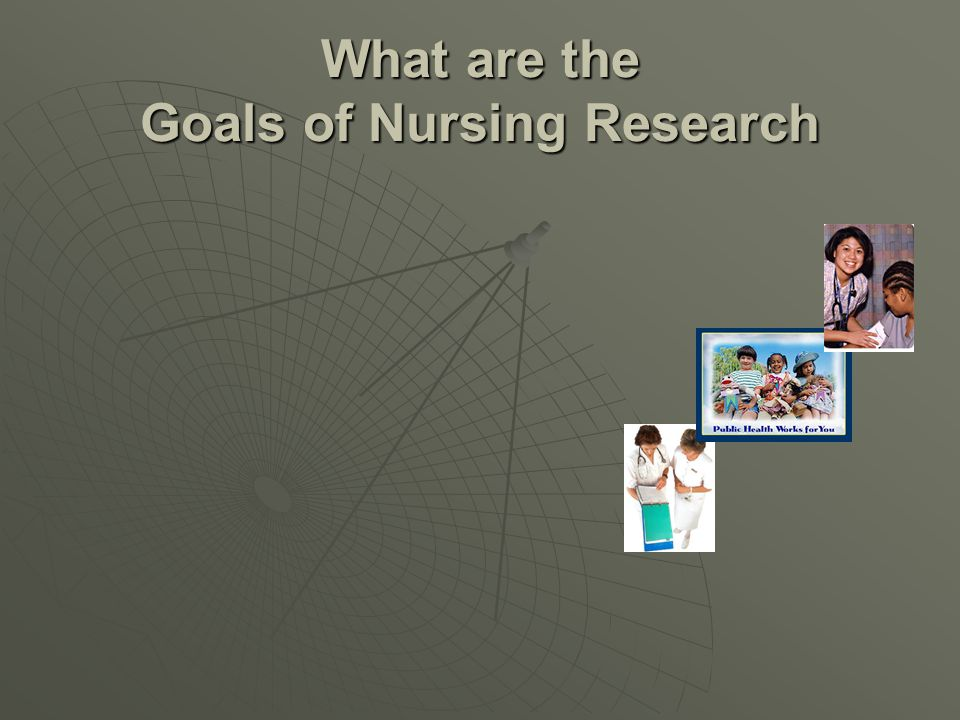 What are the Goals of Nursing Research