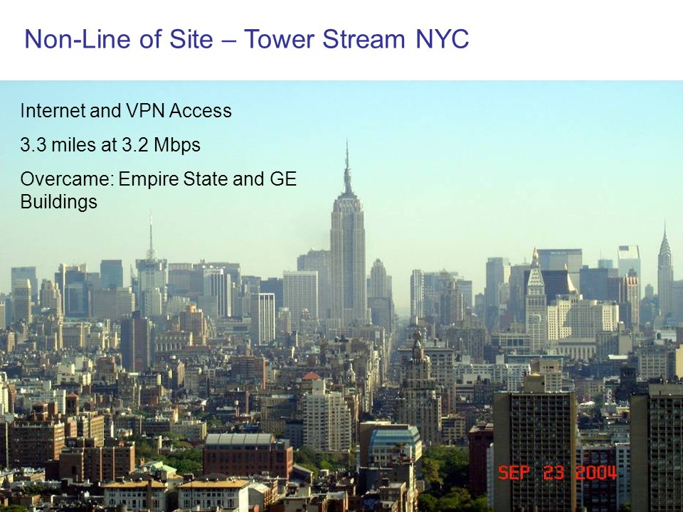 Non-Line of Site – Tower Stream NYC