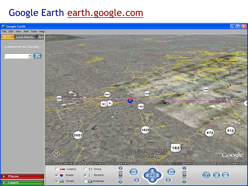 Google Earth earth.google.com