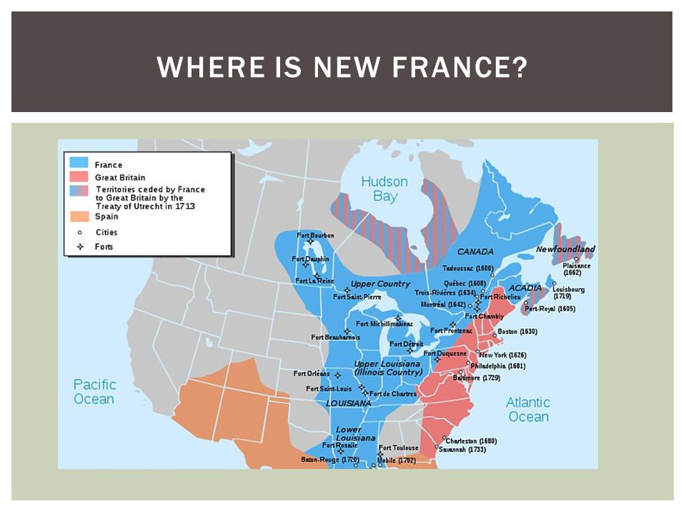 Where is New France