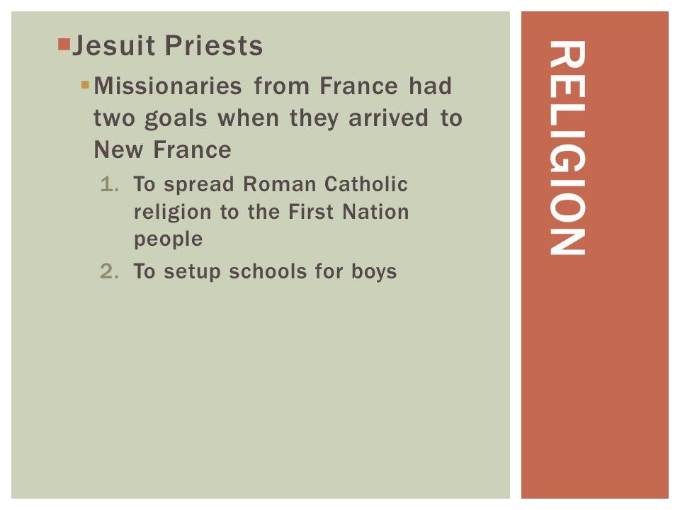 Religion Jesuit Priests