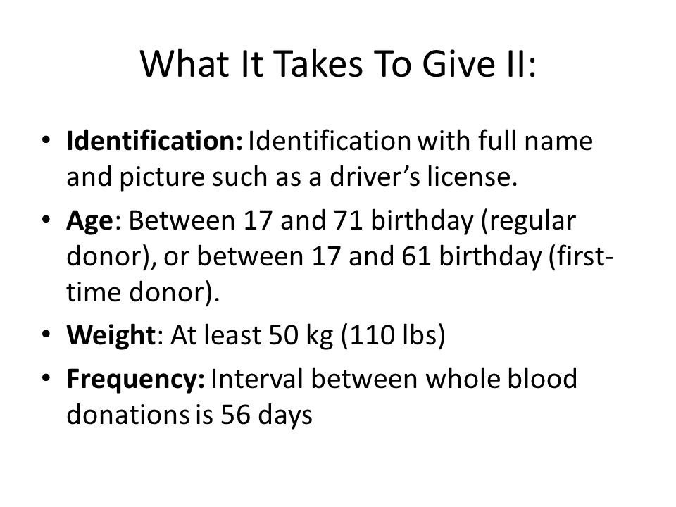 What It Takes To Give II: