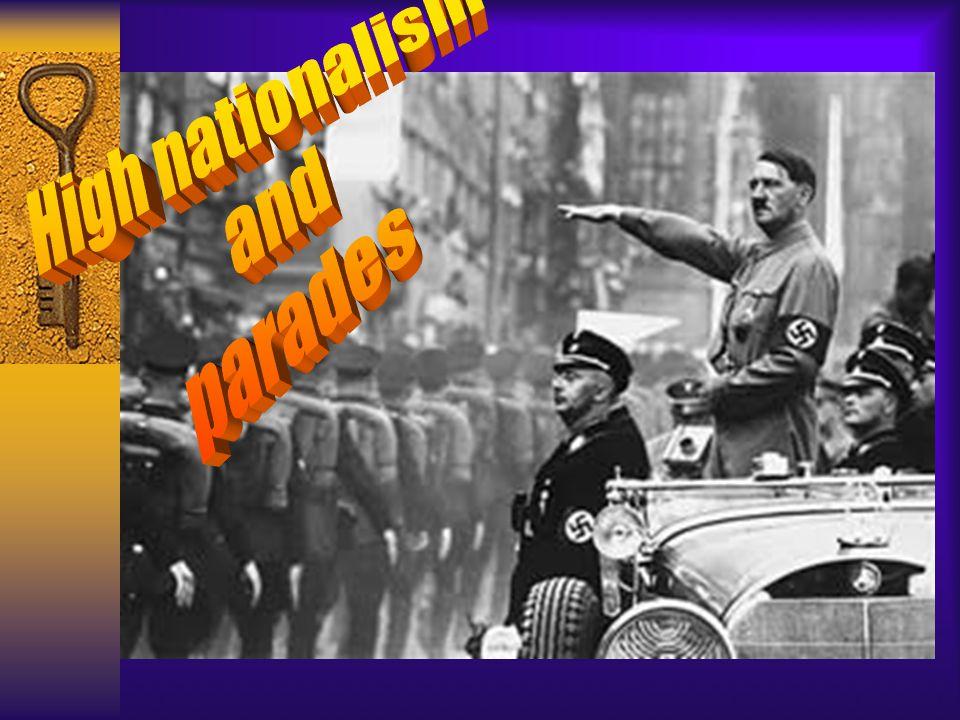 High nationalism and parades