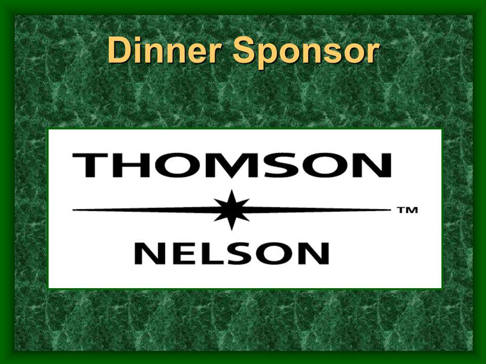 Dinner Sponsor