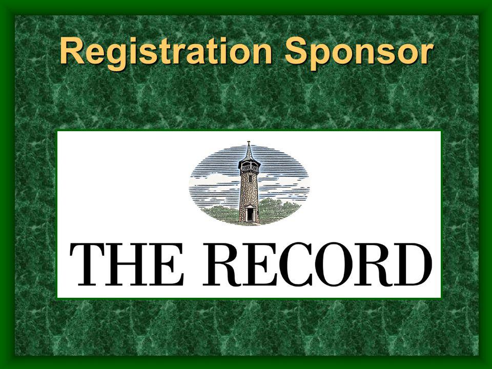 Registration Sponsor