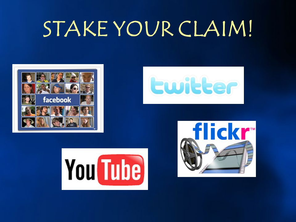 STAKE YOUR CLAIM!