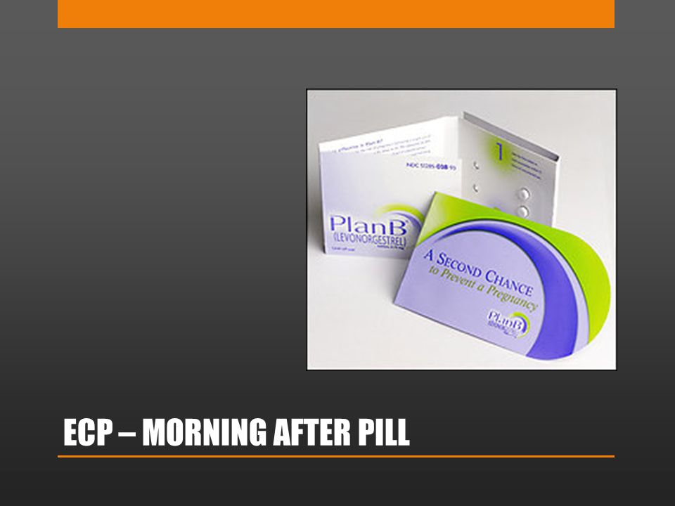 ECP – MORNING AFTER PILL