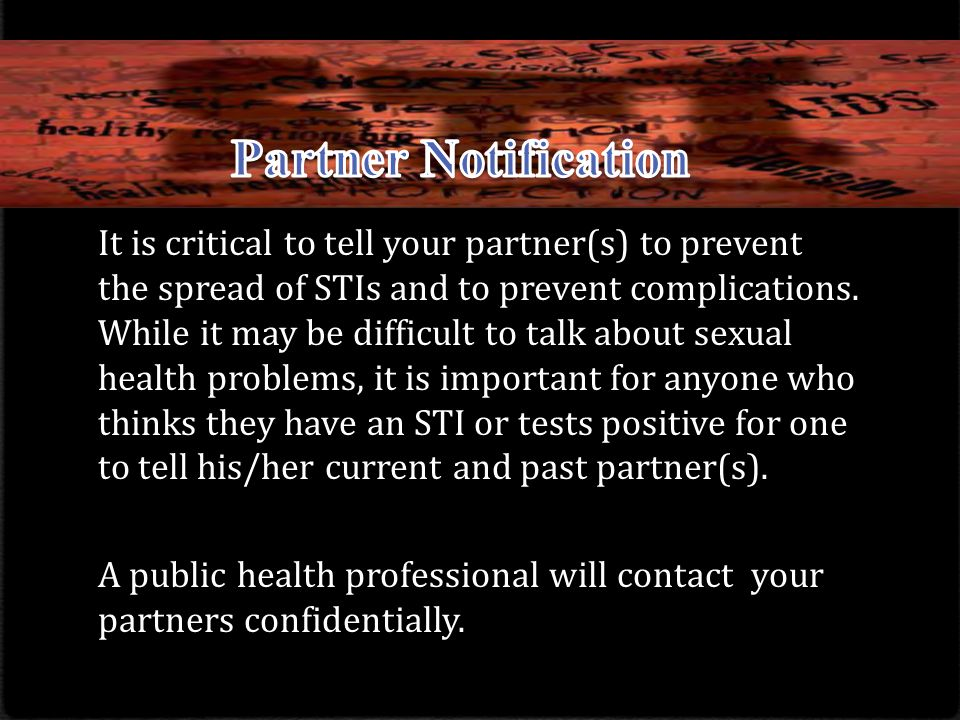 Partner Notification