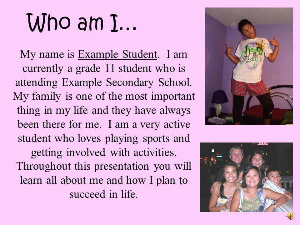 Who am I…