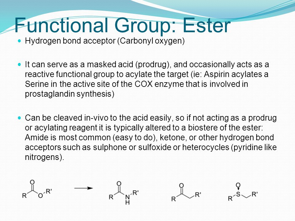Functional Group: Ester