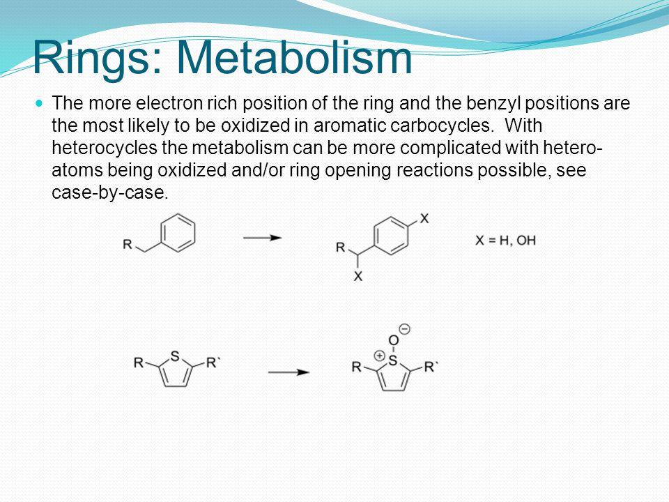 Rings: Metabolism