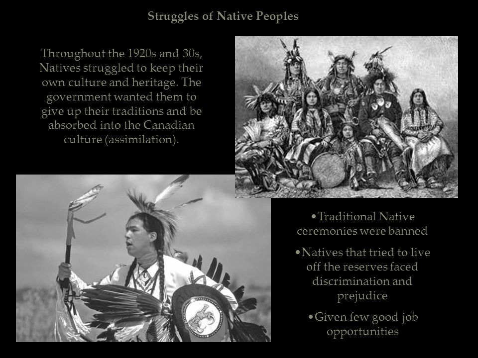 Struggles of Native Peoples