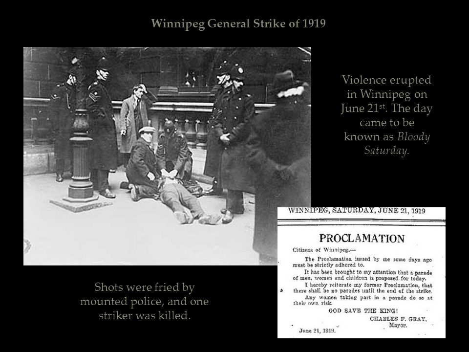 Winnipeg General Strike of 1919