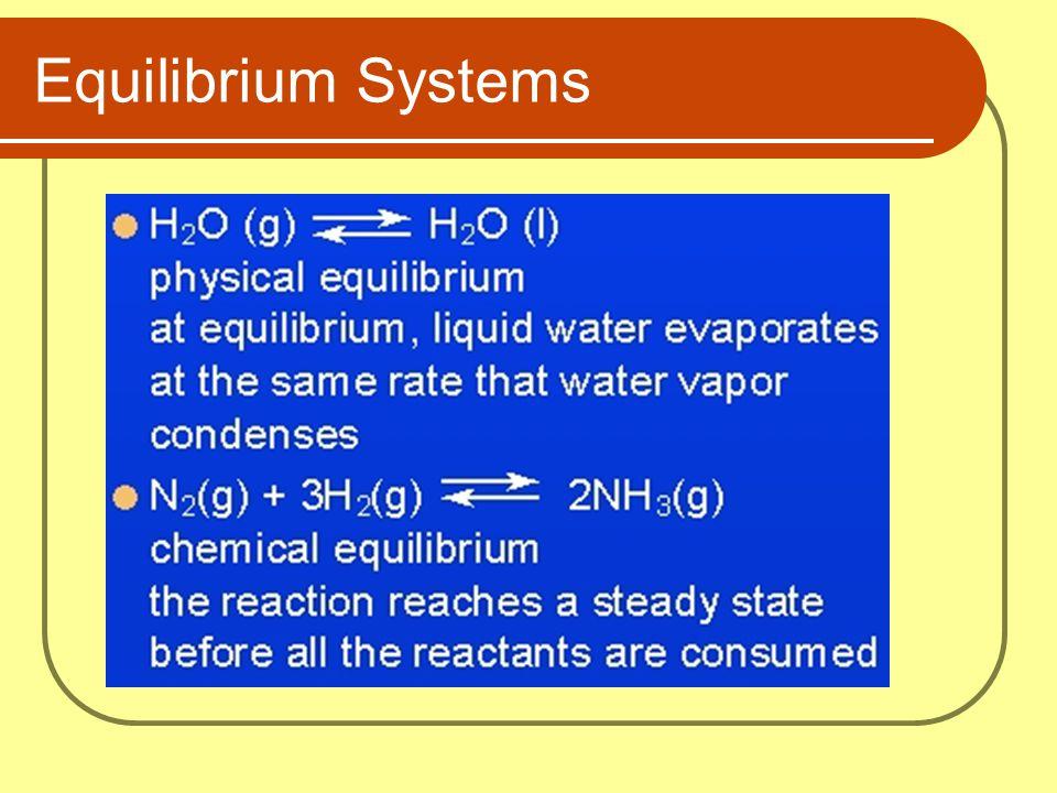 Equilibrium Systems