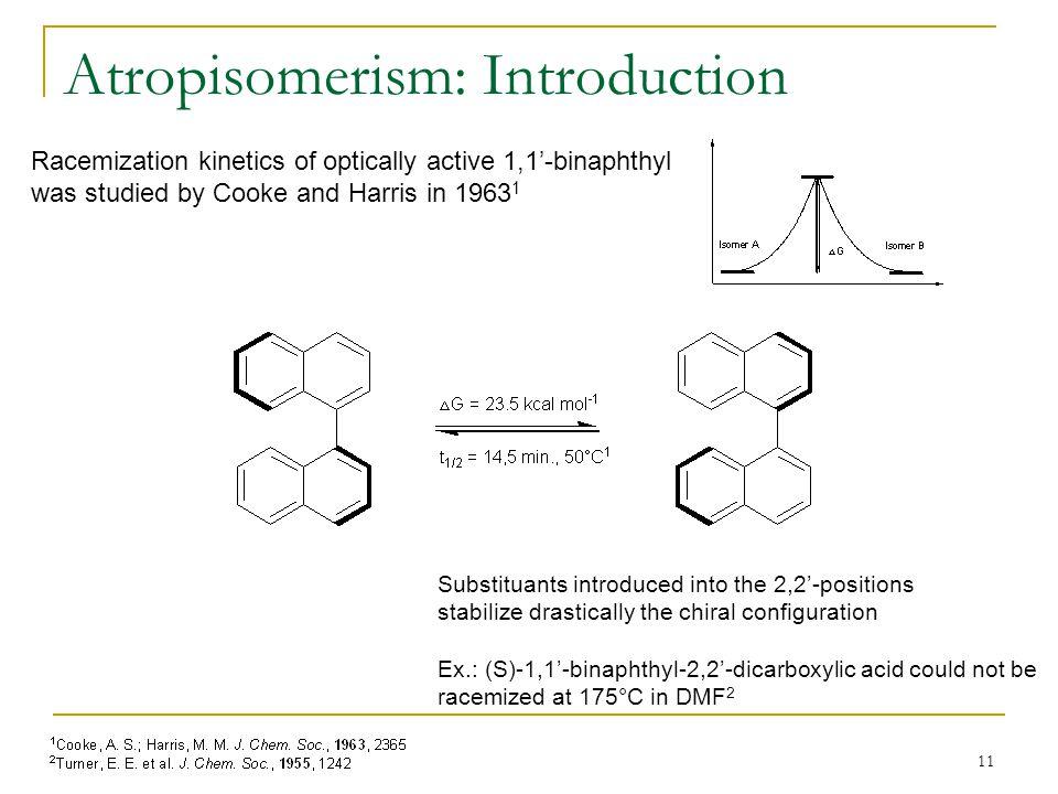 Atropisomerism: Introduction