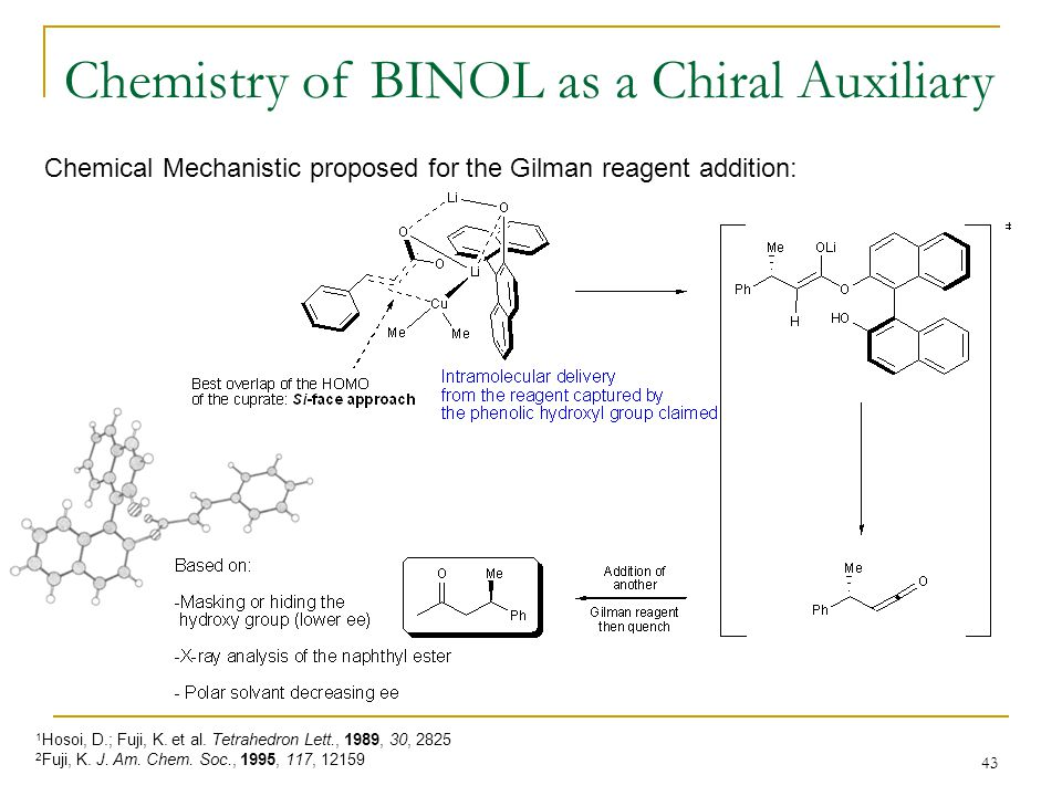 Chemistry of BINOL as a Chiral Auxiliary