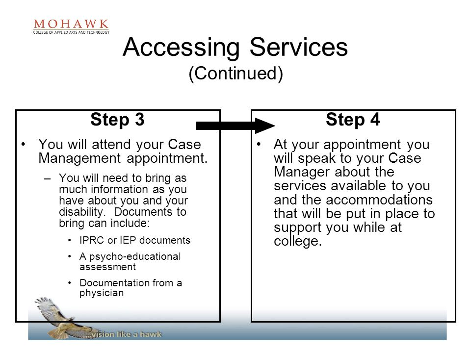 Accessing Services (Continued)