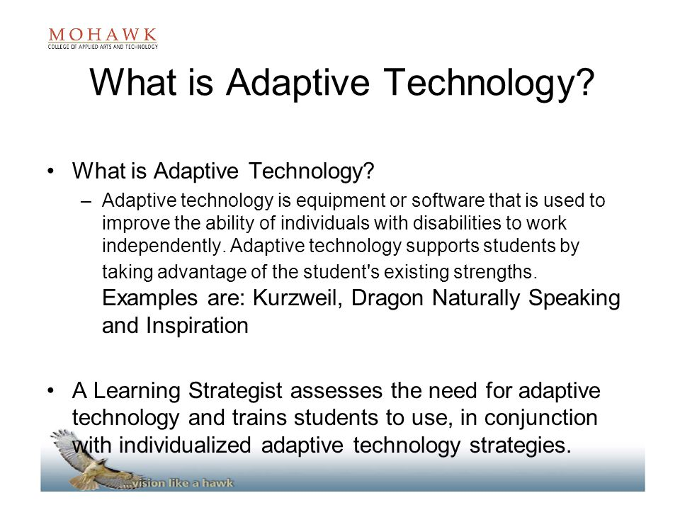 What is Adaptive Technology