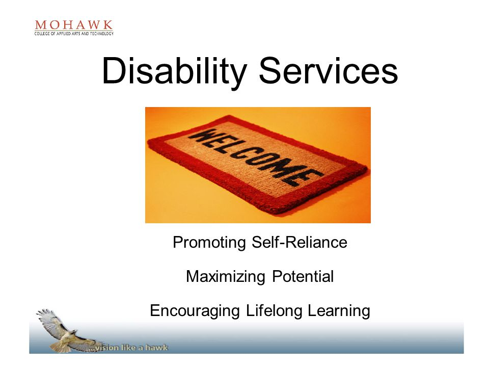 Disability Services Promoting Self-Reliance Maximizing Potential