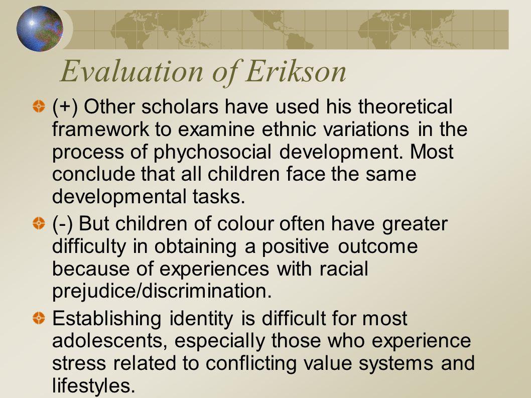 Evaluation of Erikson