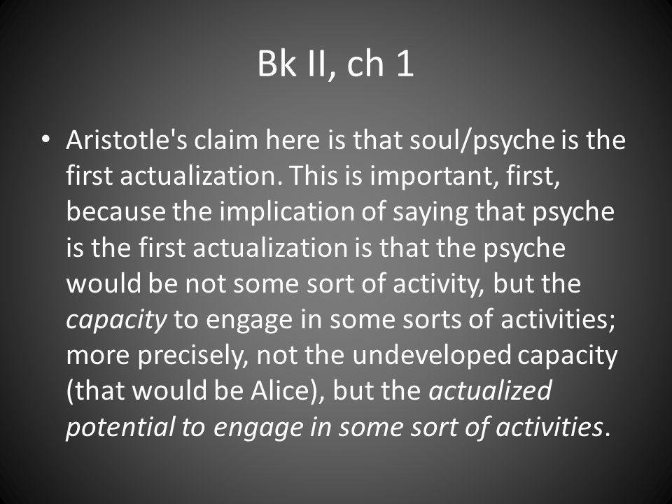 Bk II, ch 1