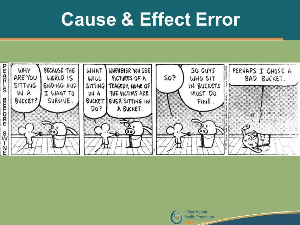 Cause & Effect Error