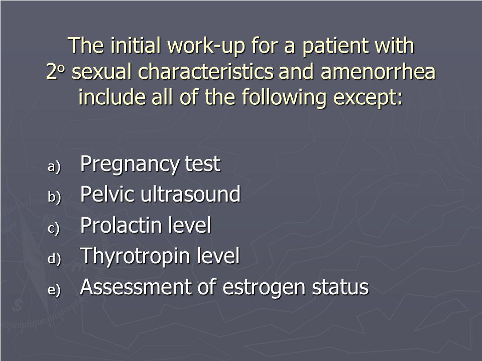 Assessment of estrogen status