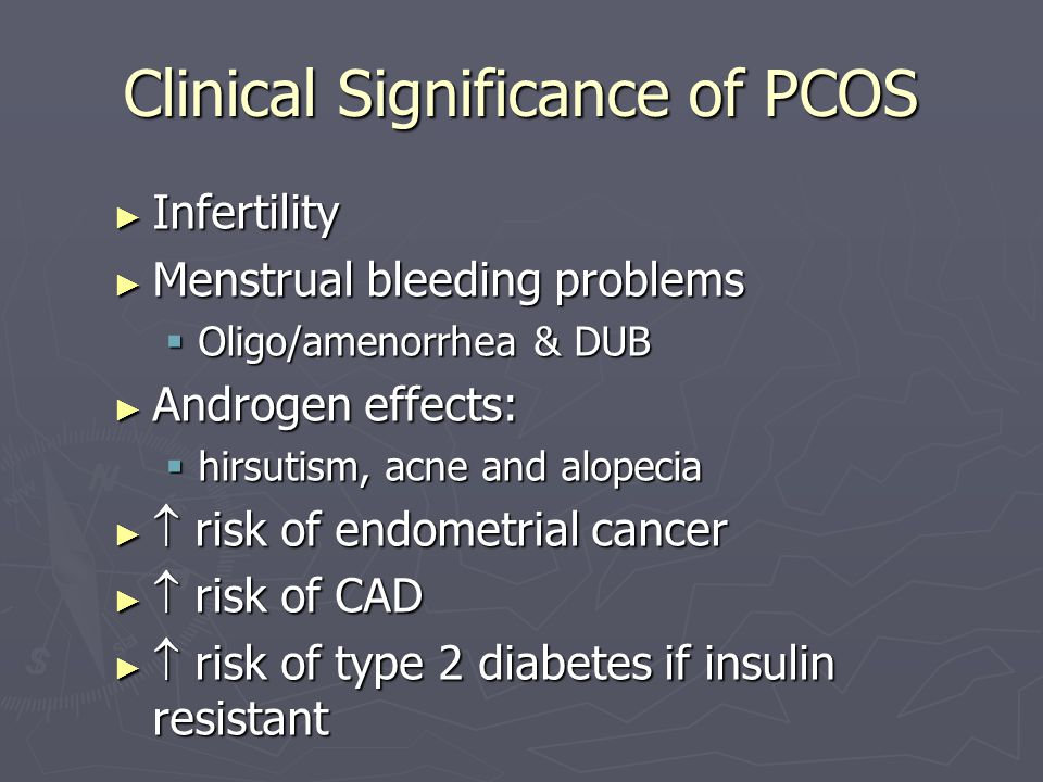 Clinical Significance of PCOS