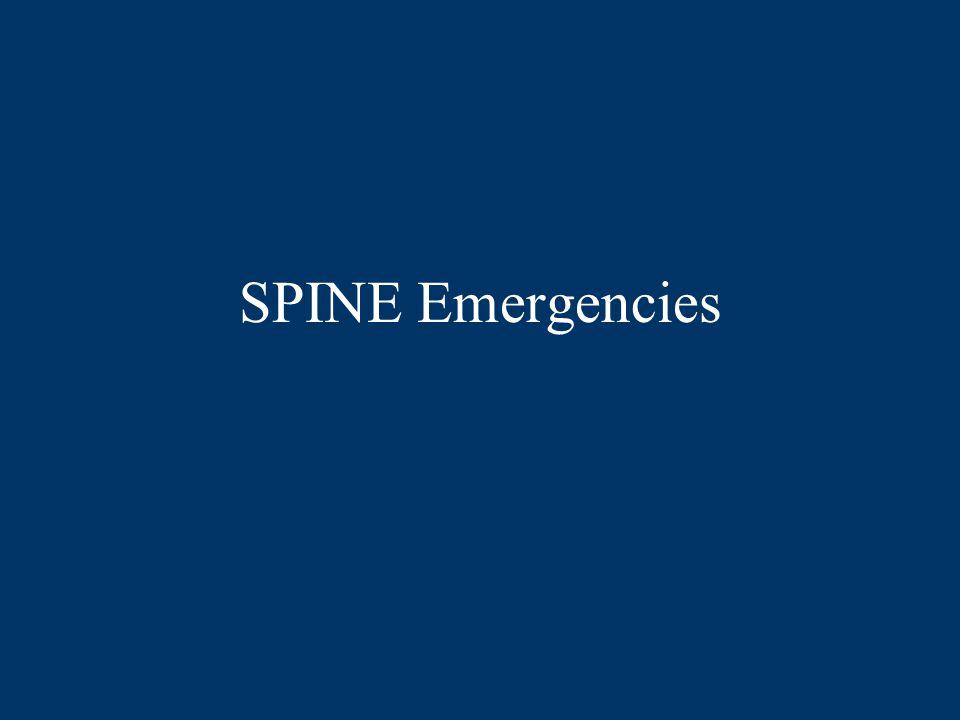 SPINE Emergencies