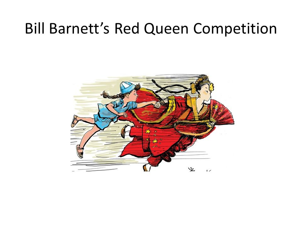 Bill Barnett's Red Queen Competition