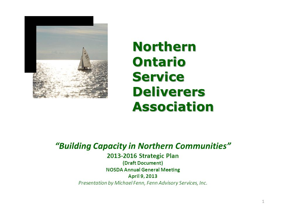 Northern Ontario Service Deliverers Association