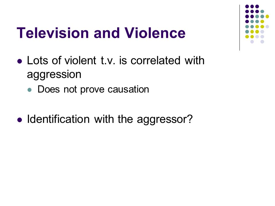 Television and Violence