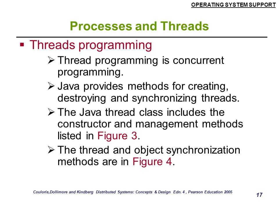 Processes and Threads Threads programming