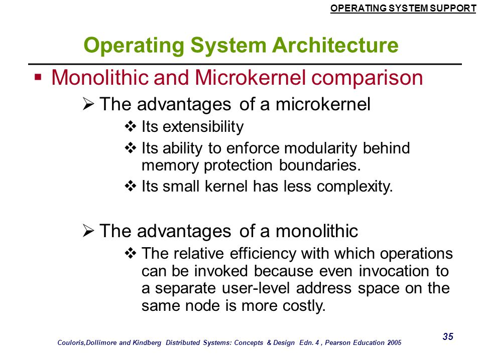 Operating System Architecture