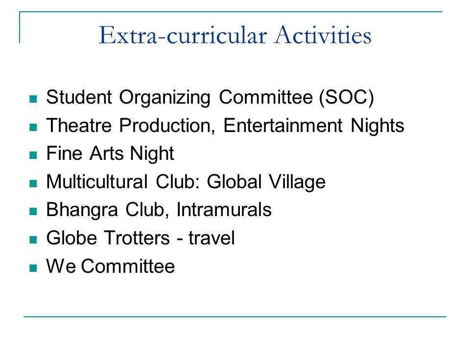 Extra-curricular Activities
