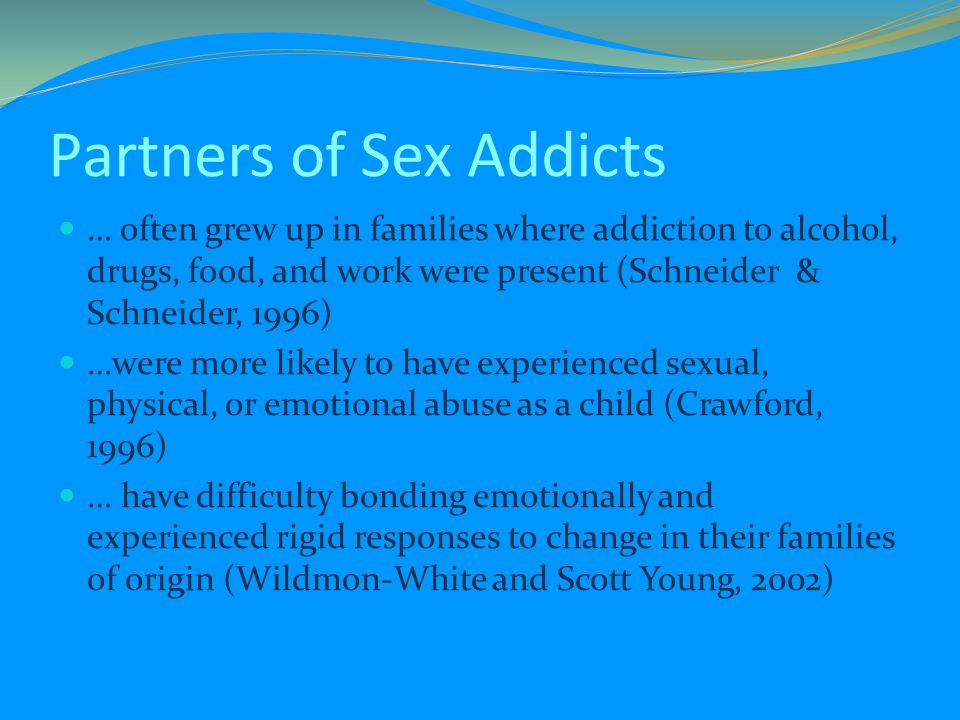 Partners of Sex Addicts