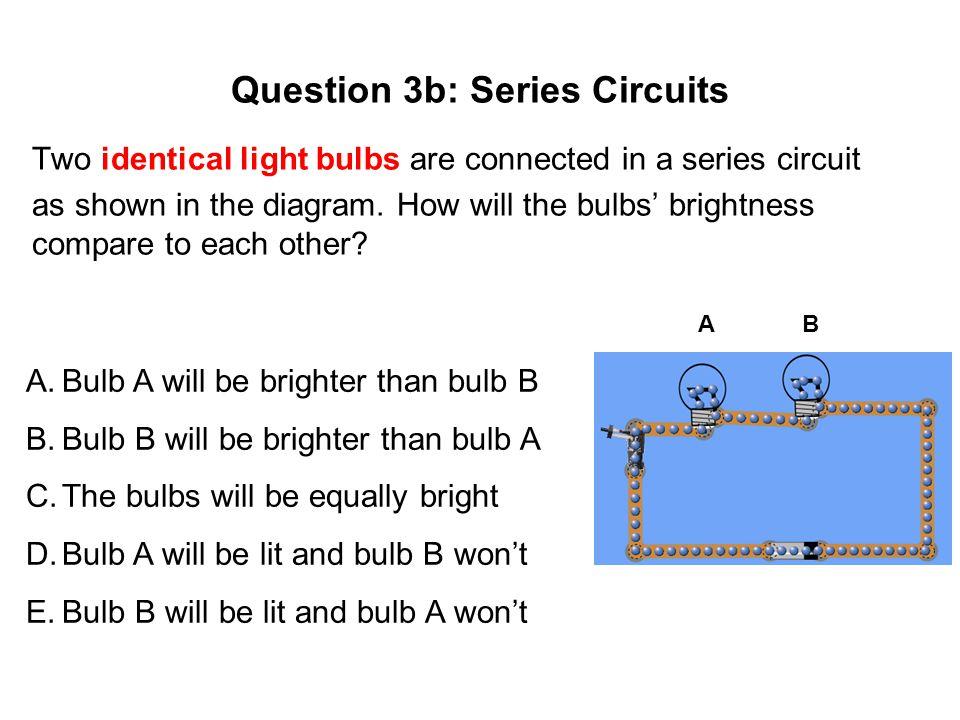 Question 3b: Series Circuits