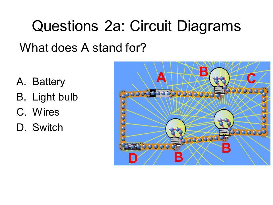 Questions 2a: Circuit Diagrams