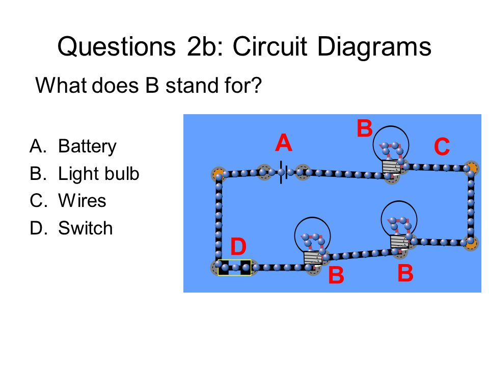 Questions 2b: Circuit Diagrams