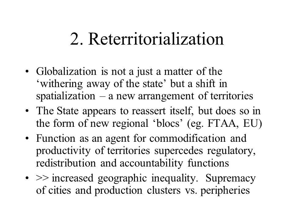 2. Reterritorialization