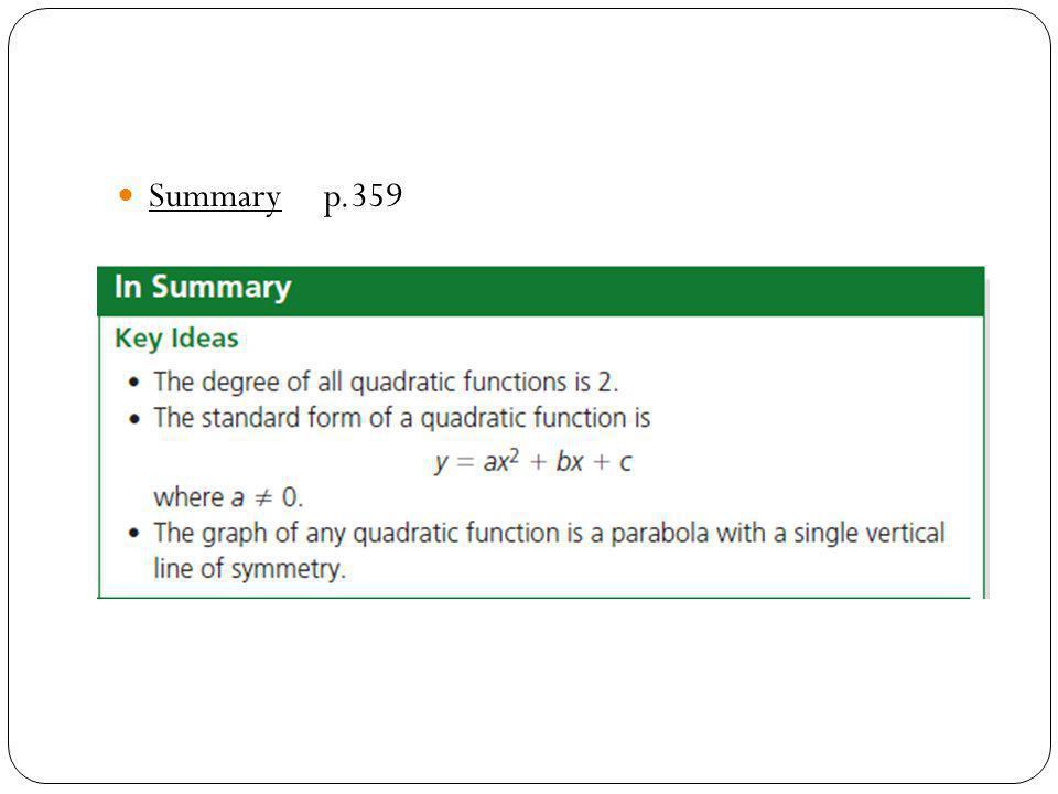 Summary p.359